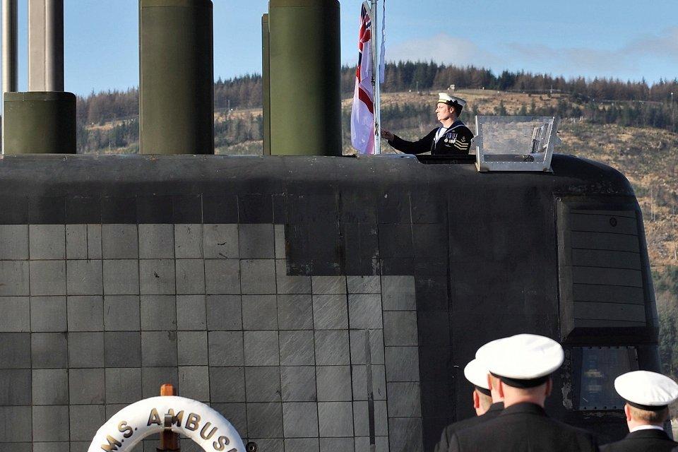 El «Ambush» se incorpora a la Royal Navy