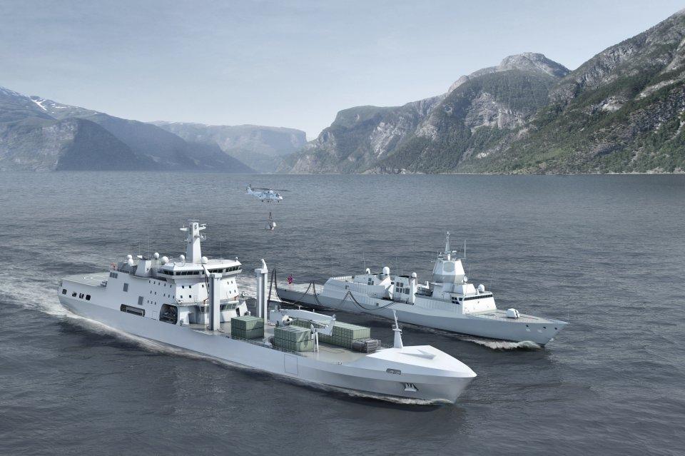 DSME construirá un buque logístico polivalente para Noruega