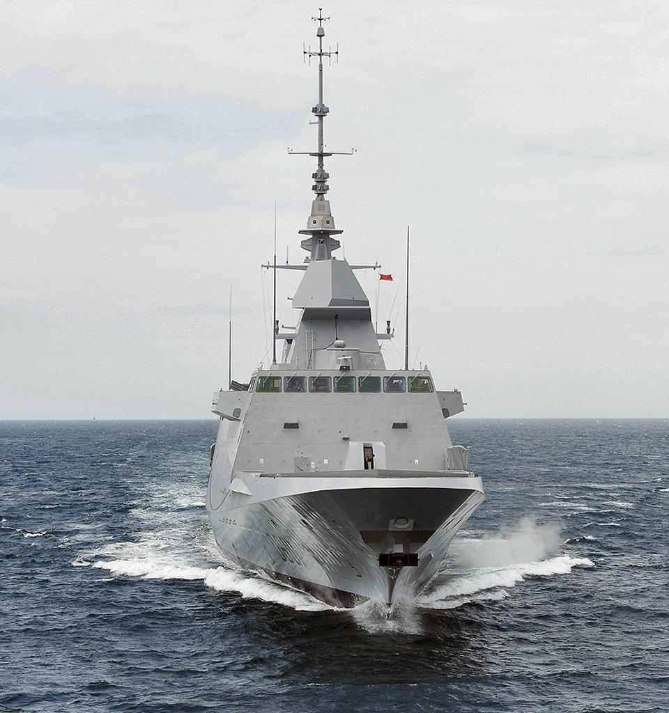 La fragata FREMM «Mohamed VI» completa sus pruebas de mar