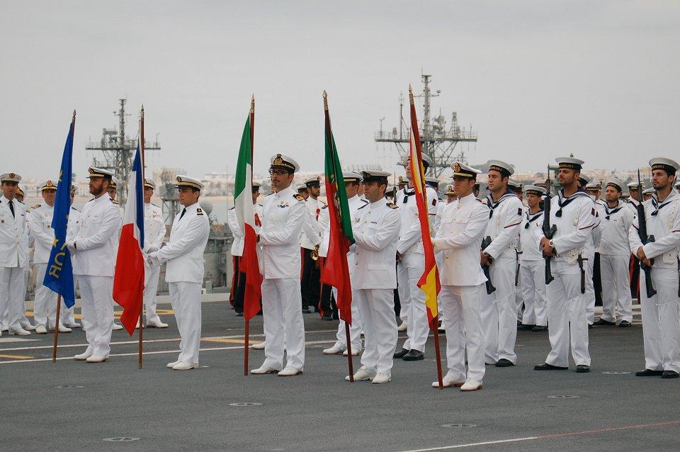 España asume el mando de EUROMARFOR en Rota