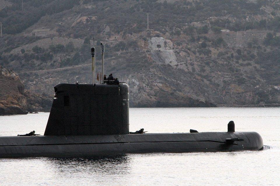 El submarino «Mistral» se reincorpora a la Flota tras las obras de gran carena