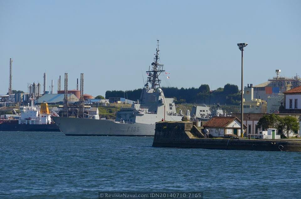 La fragata «Cristóbal Colón» culmina su misión al frente de la SNMG-2