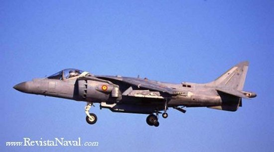 AV-8B Harrier II Plus en vuelo