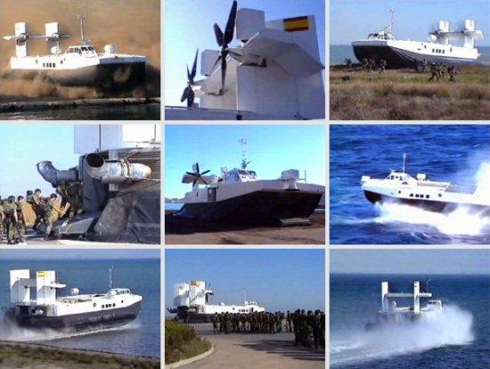 Imágenes de las pruebas a que fue sometido el prototipo de VCA-36