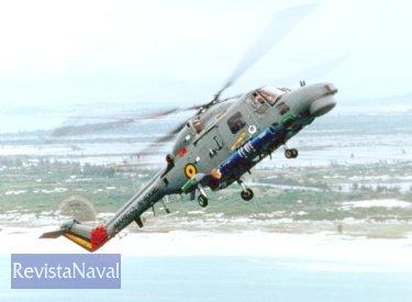 Lynx de la Marinha de Brasil (Foto: Serviço de Relações Públicas da Marinha).