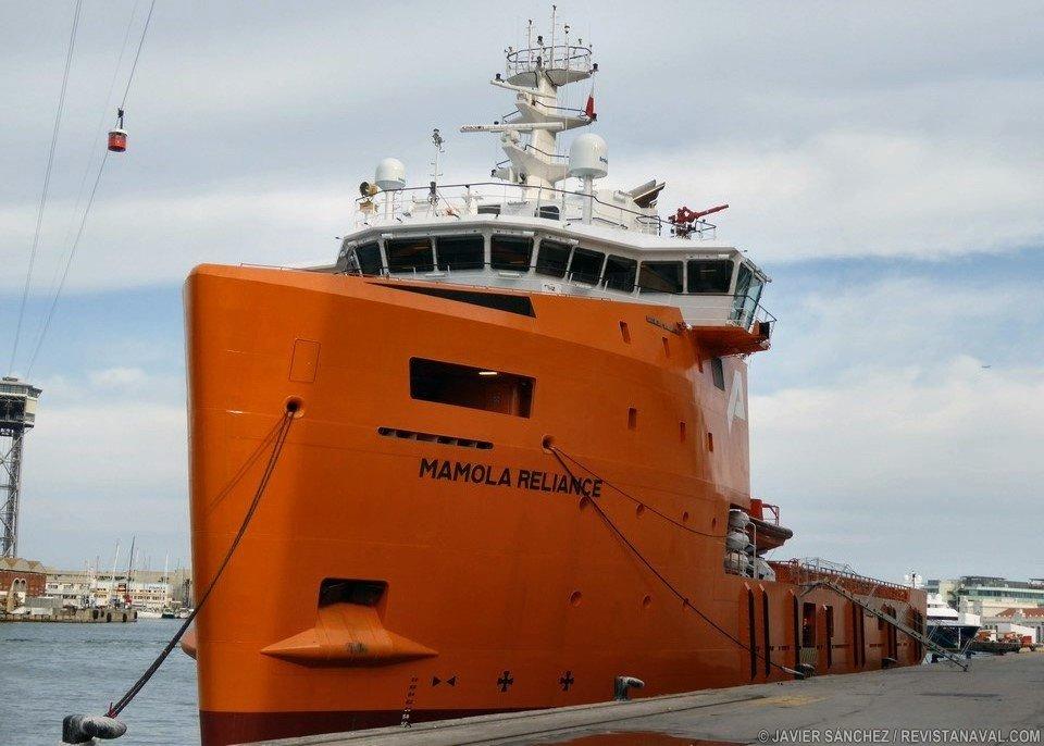 Bautizo del supply Mamola Reliance