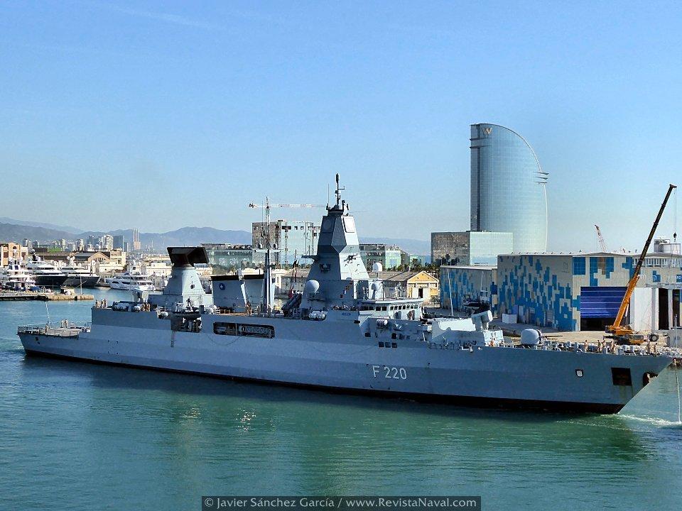 La SNMG2 se prepara en Barcelona para Trident Juncture