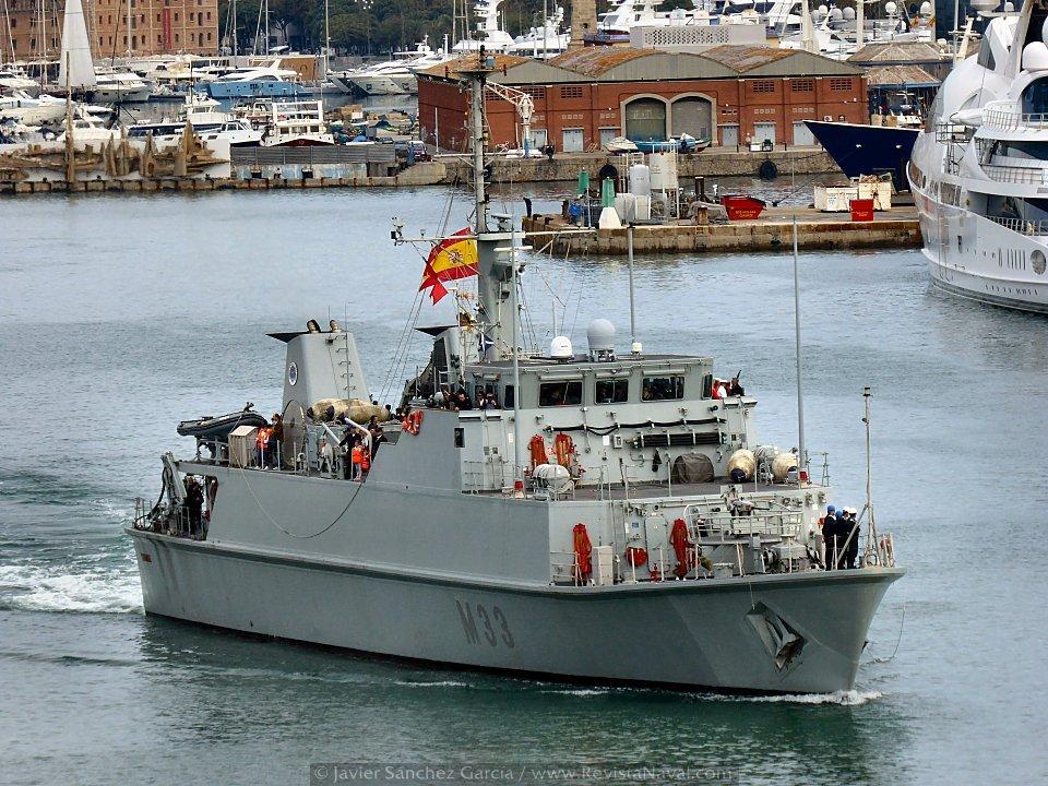 La Armada española en el Salón Náutico