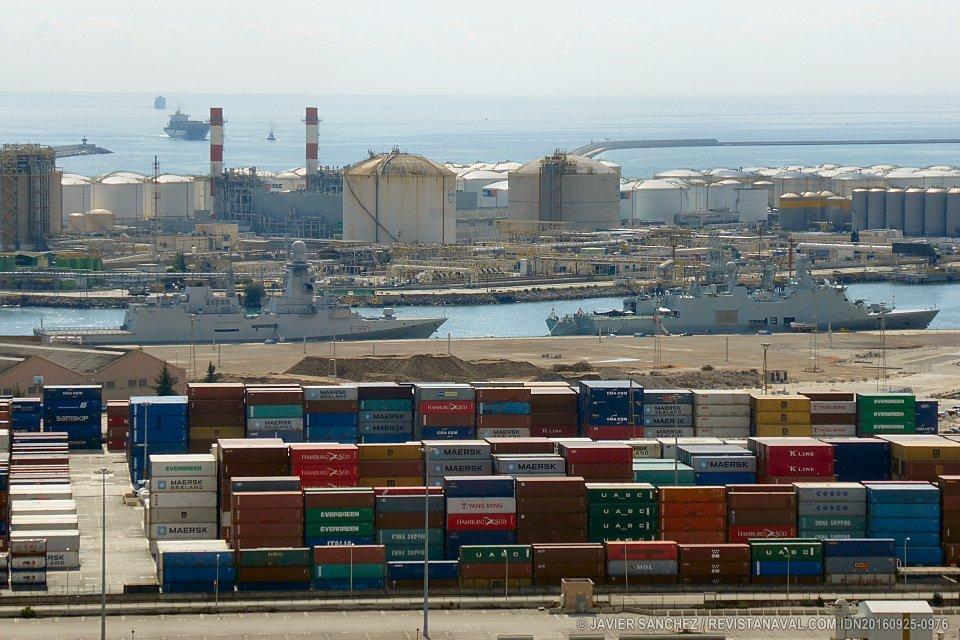 Escalas navales en septiembre