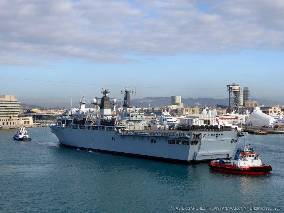 La Royal Navy en Barcelona