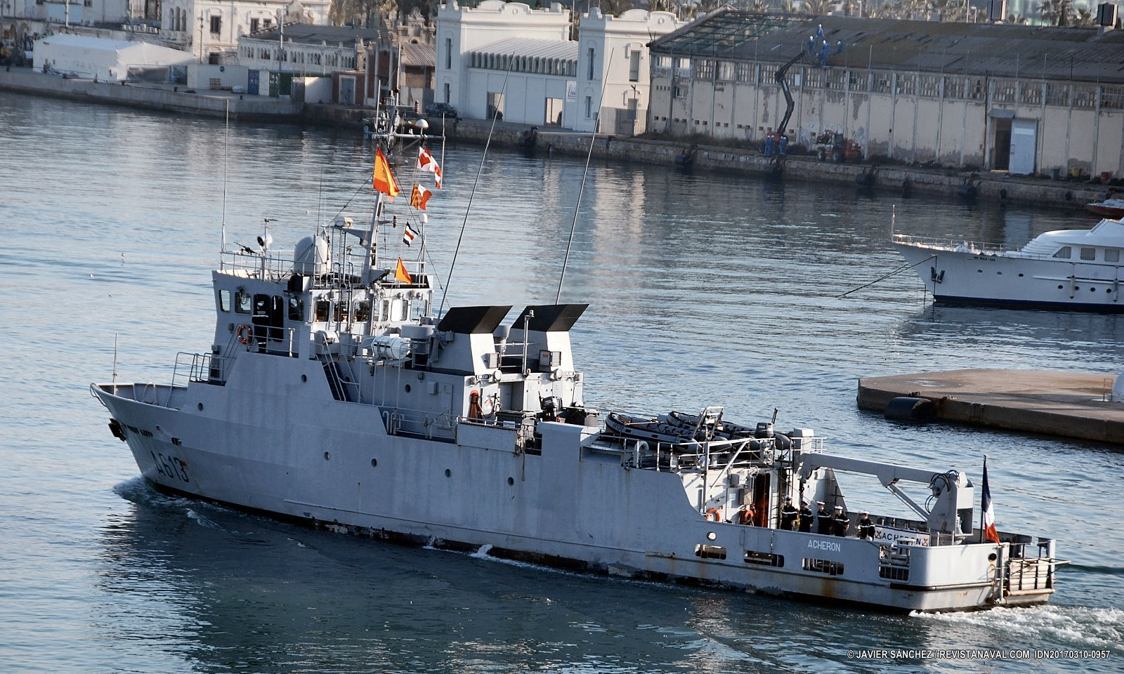 Presencia naval francesa