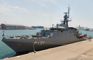 El patrullero brasileño recaló en Barcelona para dar descanso a la dotación tras su despliegue en aguas libanesas