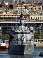 La Marina turca cuenta con ocho fragatas del tipo MEKO 200T (Foto: Javier Sánchez García/Revista Naval)