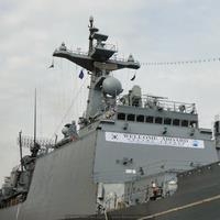 Detalle del destructor Kang Gam Chan (Foto: Javier Sánchez García/Revista Naval)