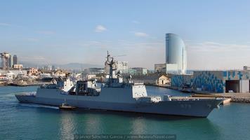Destructor DDH-979 Kang Gam Chan (Foto: Javier Sánchez García/Revista Naval)