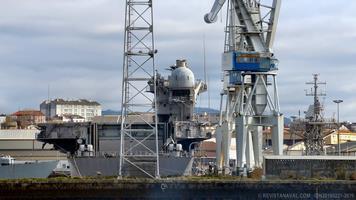 El palo fue retirado el 22 de diciembre (Foto: Revista Naval)