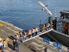 Embarque en el Turia M34 (Foto: Javier Sánchez)