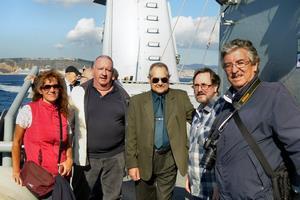 Silvia, Iván, Josep, Javier y Jordi