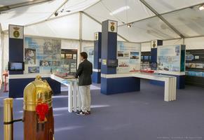 Interior del estand de la Armada (Foto: Javier Sánchez)