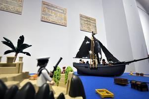 Diorama Piratas con Clicks de Famóbil